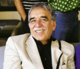 Gabriel Garcia Marquez in the Circle of Fine Arts, Madrid