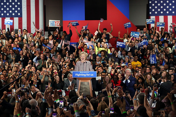 Hillary Clinton Ruben Diaz Jr.