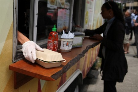 San Francisco Food Trucks Gather At Food 'Markets'