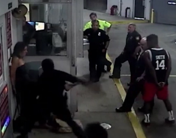 Caught on camera: Florida officer charged for beating handcuffed woman