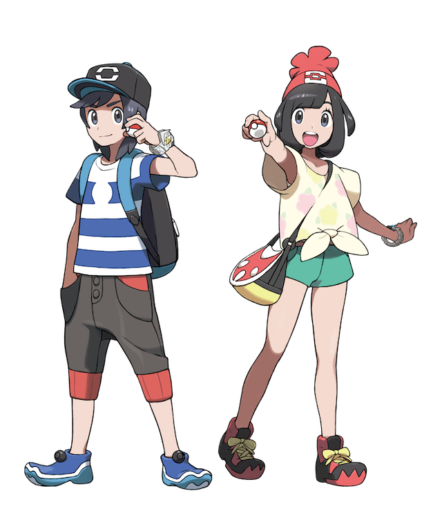 Pokemon Sun And Moon Characters Meet Your New Rival Professor