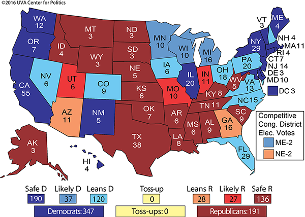 electoral college projections 2012 The electoral college and the 2012 presidential election roger c lowery, ph d phd professor & former department chair department of public & international affairs.