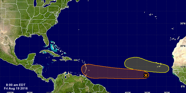 Five-Day Graphical Tropical Weather Outlook (Atlantic)