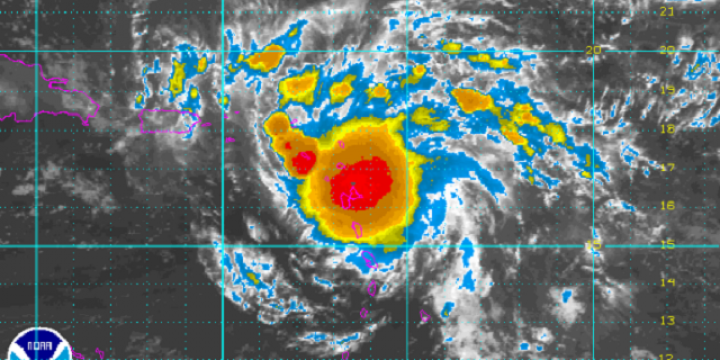 Satellite Imagery: Closeup Loop of 99L