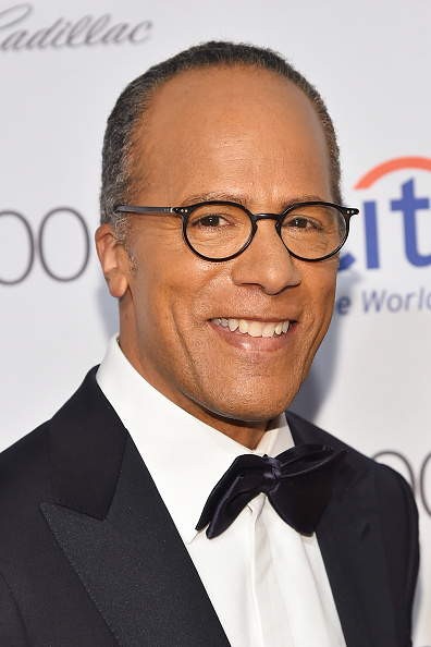 Image result for lester holt debate moderator