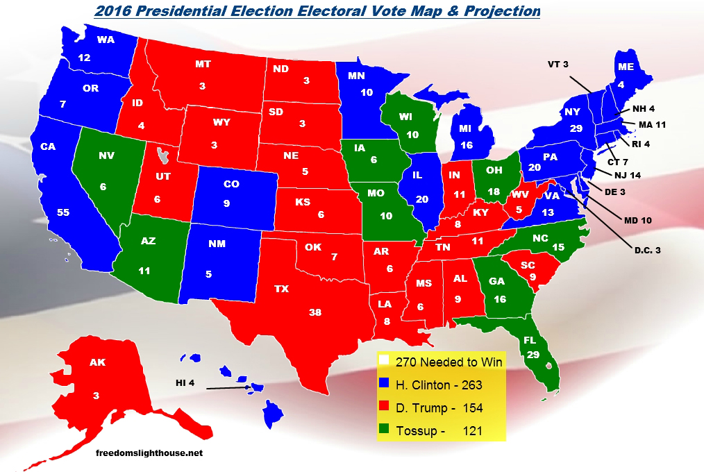 election map projections Electoral college map predictions astrology 2016 u s presidential election electroal map from realclearpolitics from polling on 10 13 2008 realclearpolitics com.