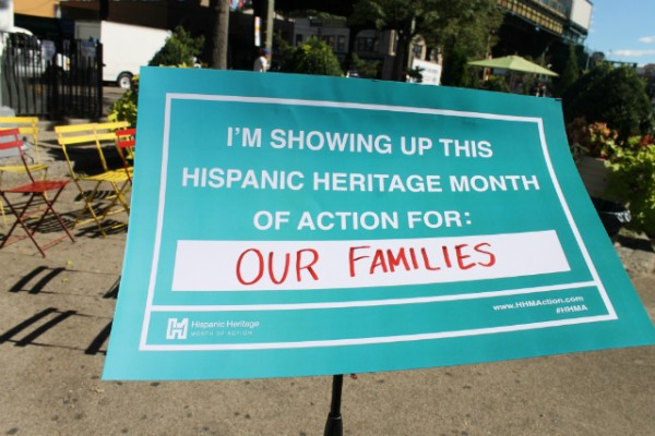 Queens, NY – SEPTEMBER 15 – Hispanic Heritage Month of Action #HHMA. (Photo by Claudia Balthazar/LATIN POST)
