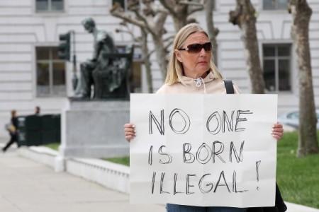 Vigil Held At San Francisco's City Hall As U.S. Supreme Court Argues Arizona's SB1070 Law