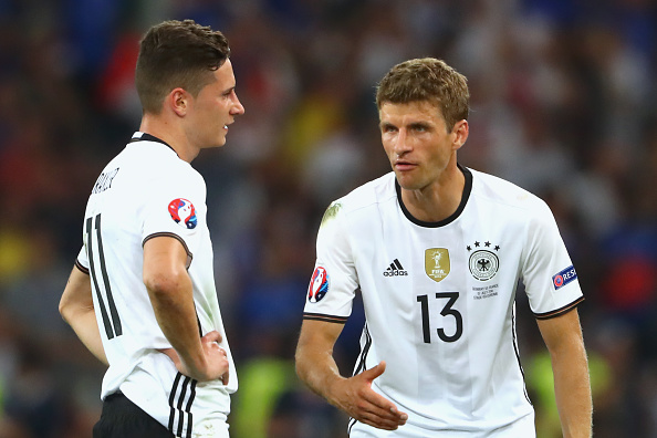 Muller Brace Guides World Champions Germany To Victory