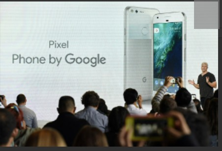 Rick Osterloh, senior vice president of hardware for Google Inc., discusses the Google Pixel smartphone during a Google product launch event in San Francisco, California, U.S., on Tuesday, Oct. 4, 201