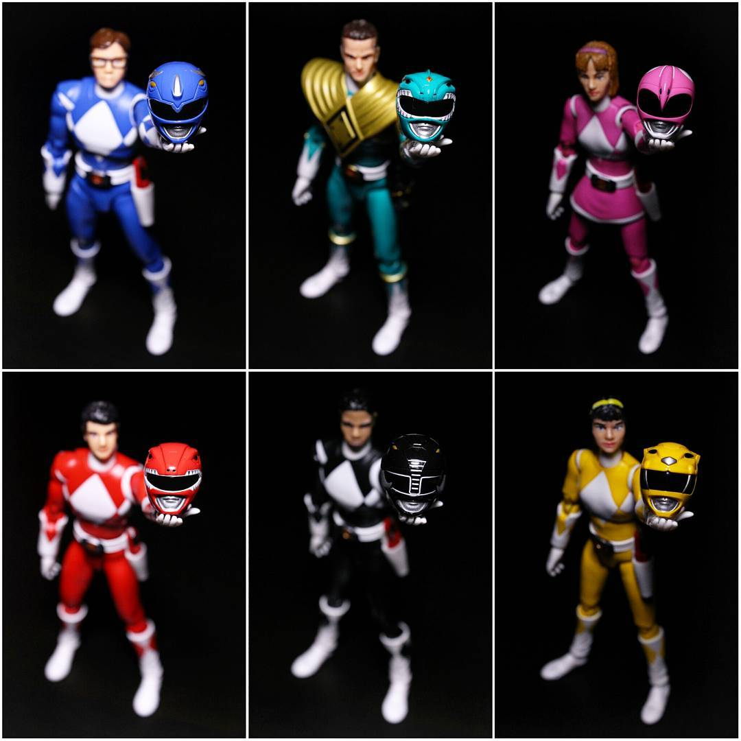 Bandai Namco, the game developer was showing off the game Power Rangers Mega Battle at its New York Comic-Con booth.