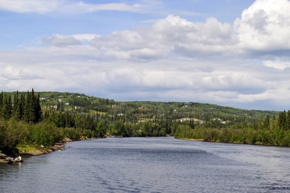 Fairbanks (AK) United States  City new picture : Chena River scenic, Fairbanks, Alaska, AK, United States. Photo ...