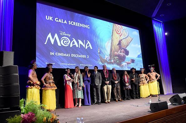 UK Gala Screening of Disney's 'MOANA'