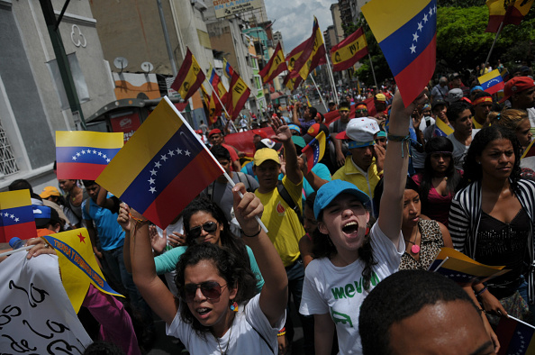 Peace march in Venezuela