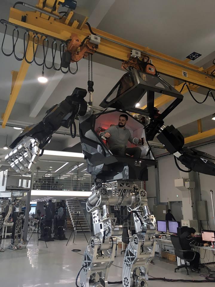 Gundam-styled Robot