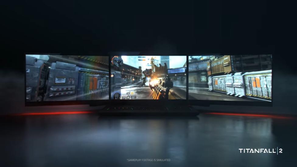 Razer unveils world's first triple-monitor laptop