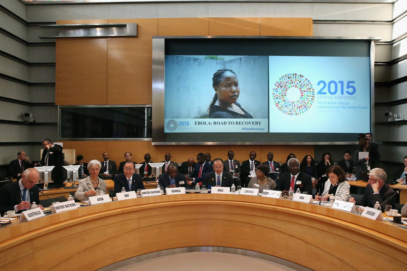 IMF And World Bank Hold Spring Meetings