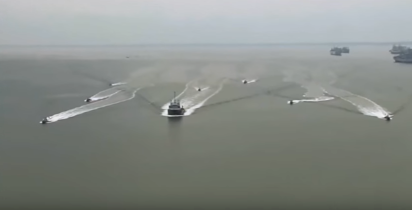 US Navy UNMANNED Swam boats to counter Naval Swarm Boat tactics