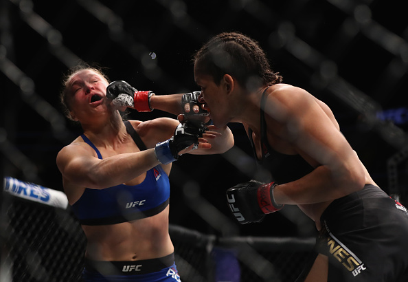 Amanda Nunes wants featherweight title, challenges Holly Holm-Germaine de Randamie victor