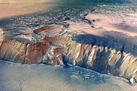 ESA's Mars Express Returns Images Of Echus Chasma