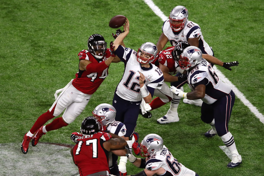 Patriots leave it late to secure historic win