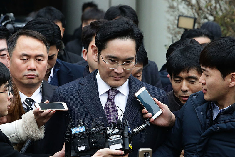 Samsung scion questioned again