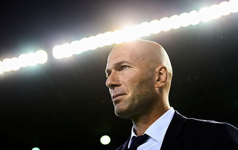 Coach of Real Madrid Real Betis Balompie v Real Madrid CF - La Liga