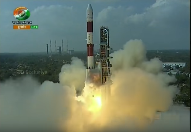 FULL VIDEO : ISRO Launches Record 104 Satellites On Board Single Rocket - Polar Satellite Launch Vehicle