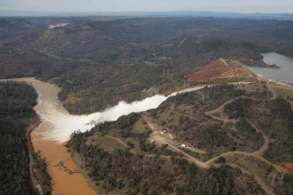 Department of Water Resources increases outflow of Oroville Dam