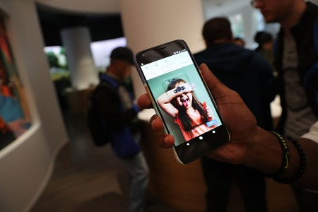 A new Google Pixel XL phone is displayed at the new Google pop-up shop in the SoHo neighborhood on October 20, 2016 in New York City.