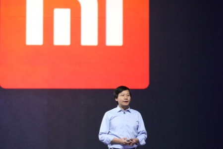 Xiaomi CEO Lei Jun speaks during a product launch on May 15, 2014 in Beijing.