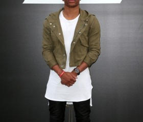 Russel Westbrook attends the Saint Laurent show as part of the Paris Fashion Week Menswear Spring/Summer 2015 on June 29, 2014 in Paris, France.