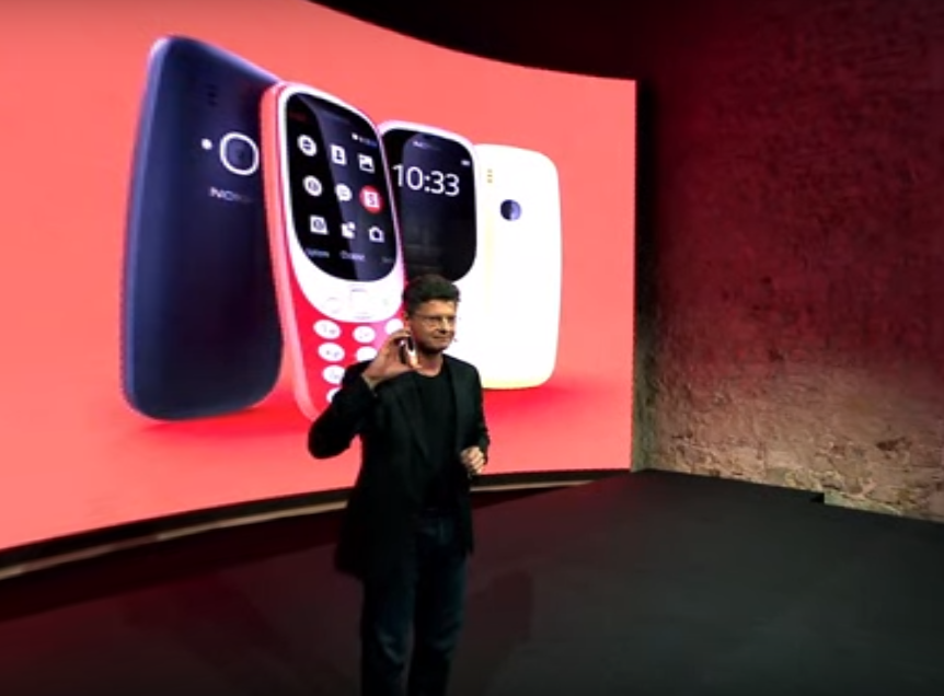Nokia 3310 Relaunches 17 Years After Original Release