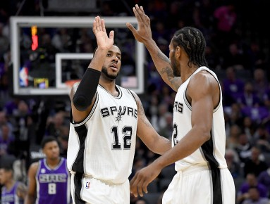 NBA News: Spurs Forwards Kawhi Leonard & LaMarcus Aldridge Will Not Play Vs. Sacramento Kings