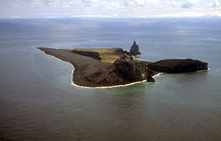 Alaska Volcano 'Bogoslof Volcano' at Bogoslof Island