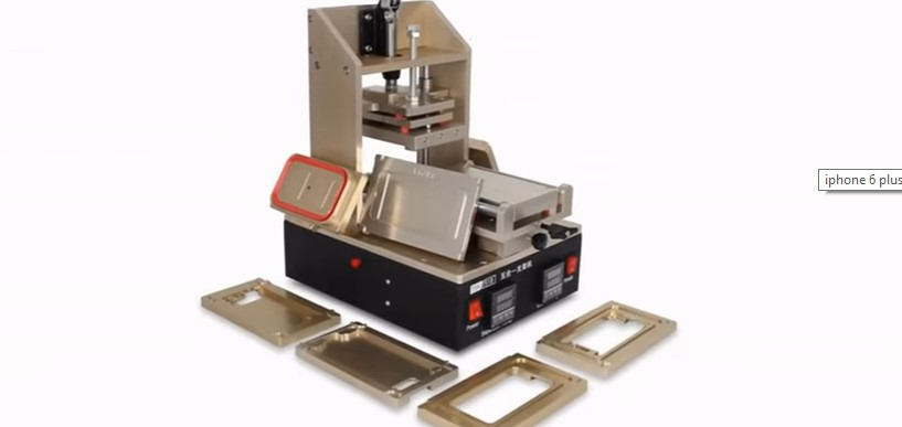 Latest 5 in 1 LCD separator machine vacuum hot plate for iphone 6 LCD glass separating
