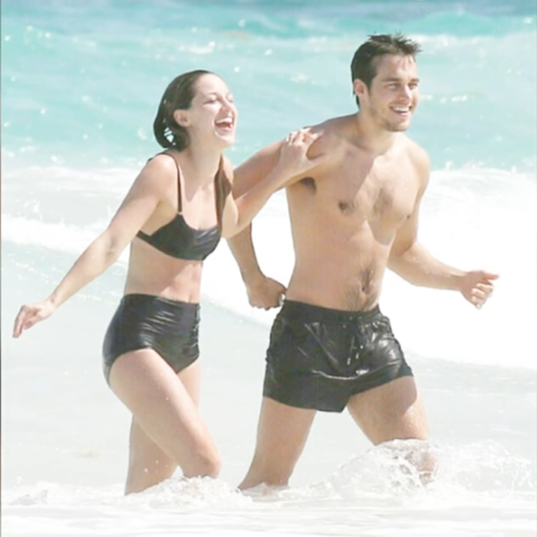 Melissa Benoist and Chris Wood together in Mexico, cancun #melwood