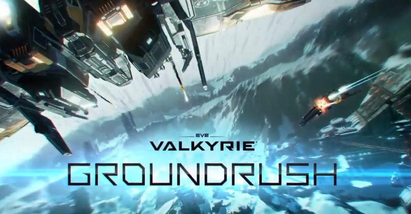 EVE : VALKYRIE - GROUNDRUSH UPDATE TRAILER | PS VR