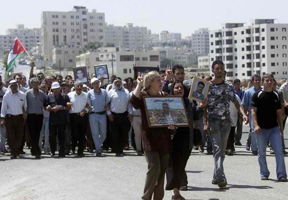Palestinians Show Support For Prisoners On Hunger Strike In Israeli Jails