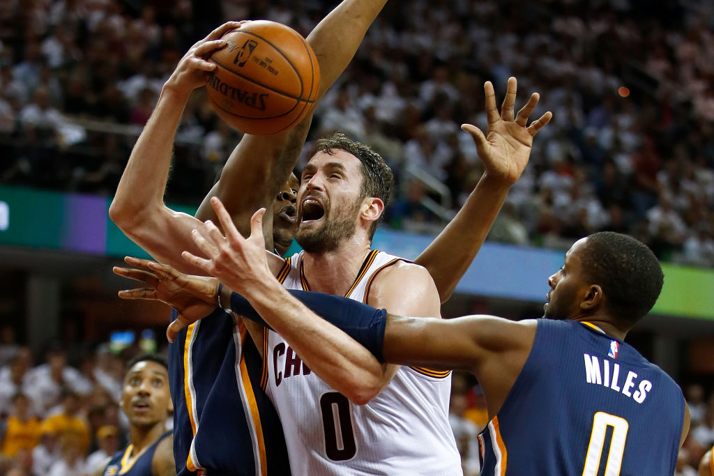 Kevin Love's Performance Propels Cavs to Game 2 Win Over Pacers