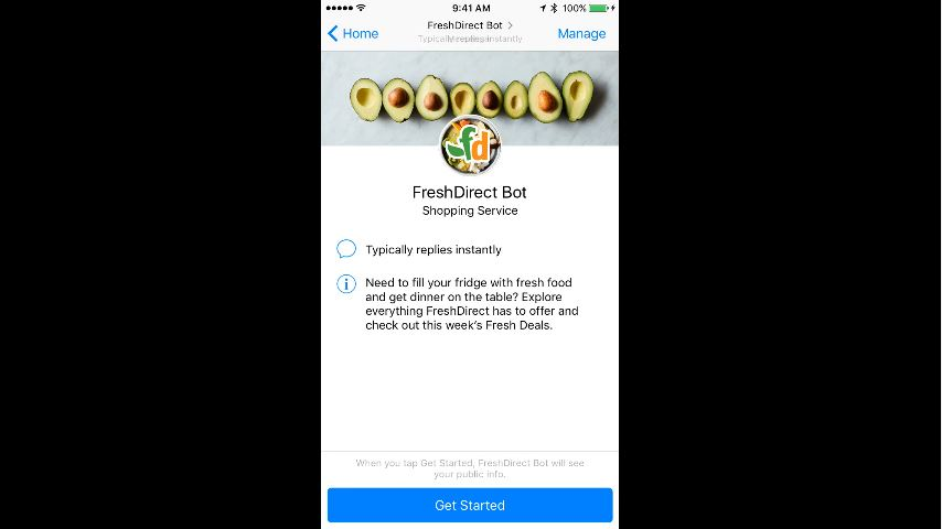 Buy Subway Sandwiches Through Facebook Messenger