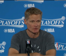 Steve Kerr Postgame News Conference | Warriors vs Blazers R1G2 | April 16, 2017