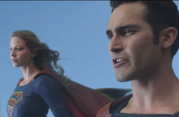 Supergirl 2x01: Clark Kent and Kara Danvers aka Superman and Supergirl #7