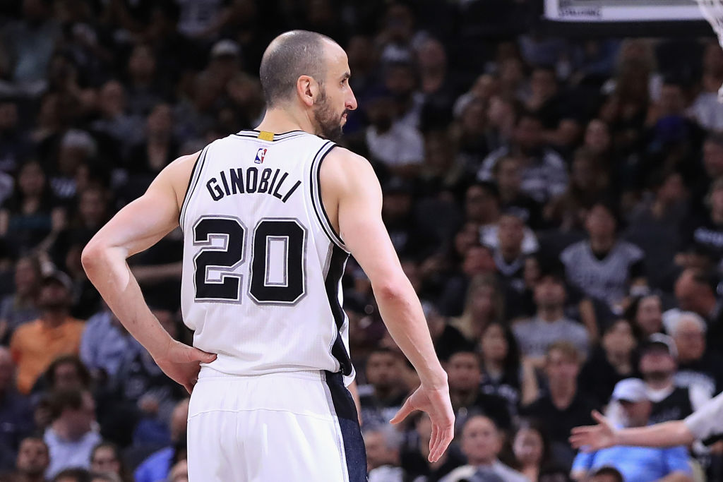 Manu Ginobili on retirement: 'It feels like they want me to retire'