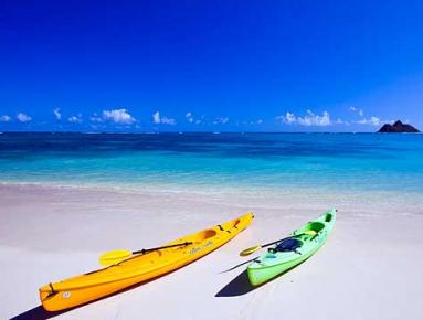 Best for Surfing - Lanikai Beach, Hawaii