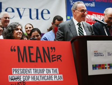 Senator Chuck Schumer (D-NY) Speaks Out Against the GOP Healthcare Bill