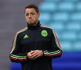 "Javier ""Chicharito"" Hernandez prepares for the Mexico-Germany matchup"