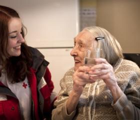 aging senior citizens