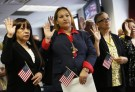 immigrants naturalization ceremony citizenship