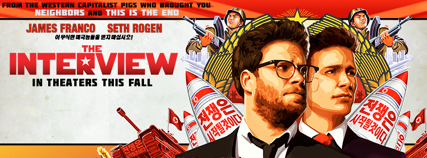 Official 'The Interview(2014)' Poster.